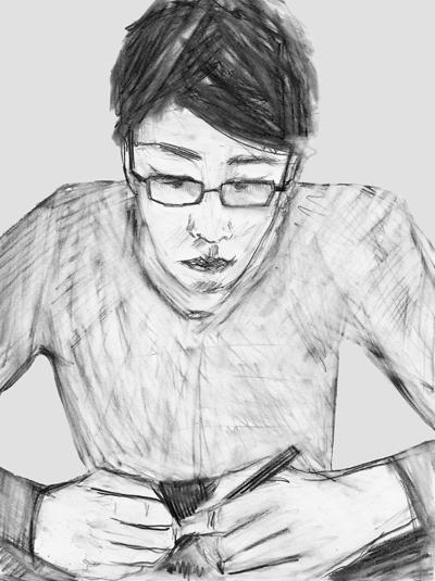 Boy, drawing