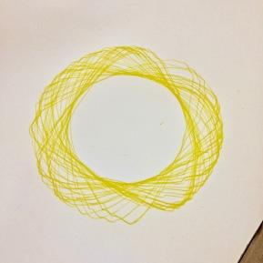 Handmade spirograph